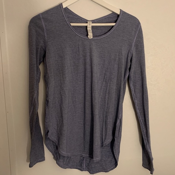 Lululemon long sleeved striped tee!